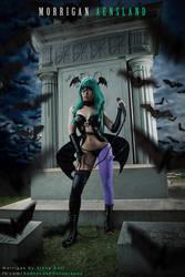Darkstalkers - Morrigan Aensland (Vampire Savior) by Benny-Lee