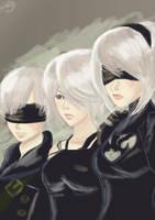 YoRHa : Nier Automata by Zirayel