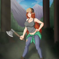 Gravity Falls (Wendy) by Nwinter3
