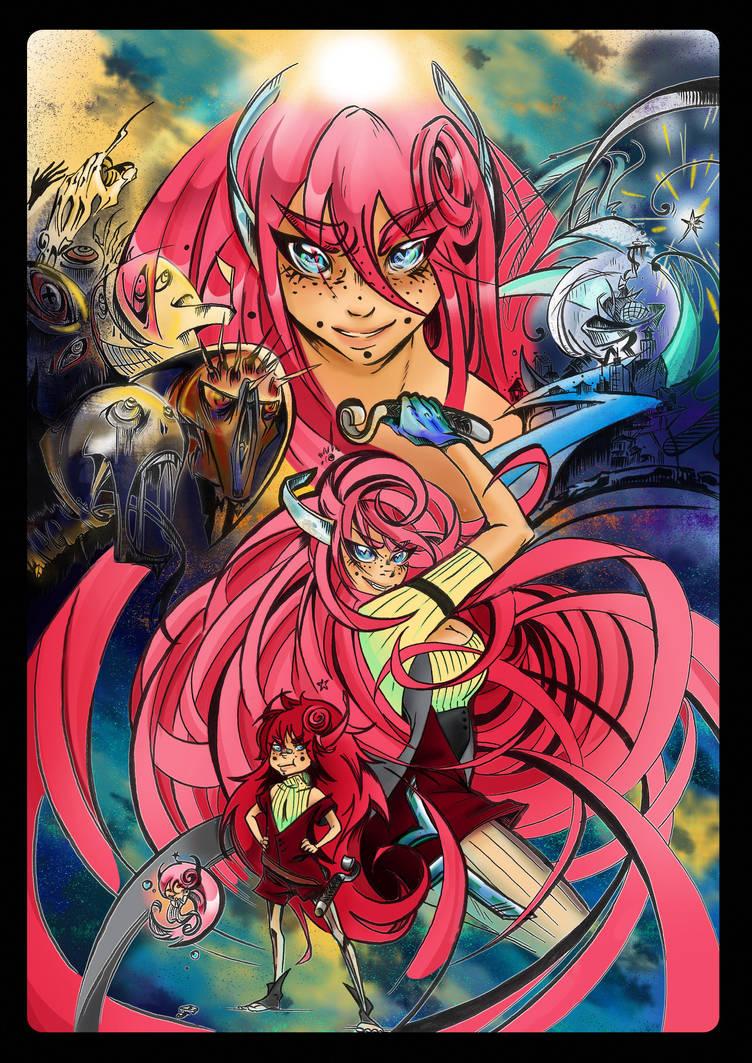 Ida Volts Poster by KimiyoTarameHollows