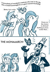 Where did he come from anyway? by GlancoJusticar