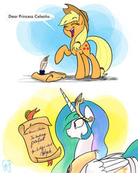 And not a thing was learned that day. by GlancoJusticar