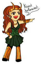 Loki Me by eruanna