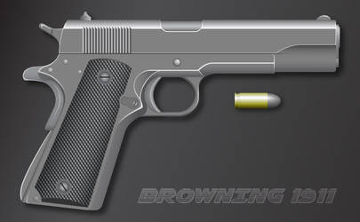Browning 1911 by Niedziak