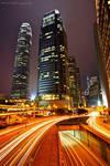 night of Hong Kong by evenliu