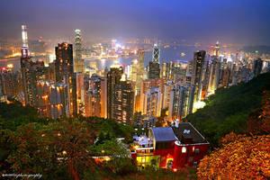Goodnight Hong Kong by evenliu