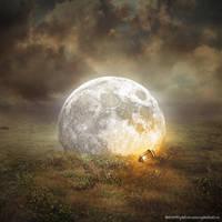 Fallen Moon by evenliu
