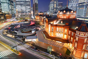 tokyo station by evenliu
