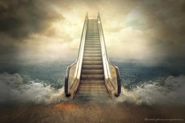 escalator by evenliu