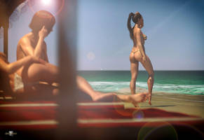 Clara At The Beach by AS-Dimension-Z