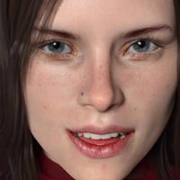 Lacie's Portrait by AS-Dimension-Z