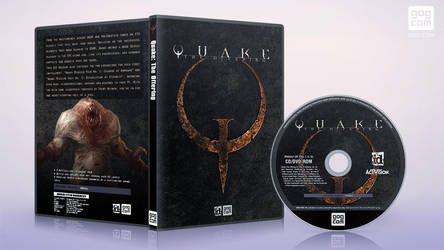 gog cover disc Quake I - The Offering by XOVYANT