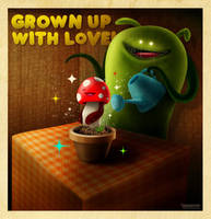 Grown Up with Love by dimpoart