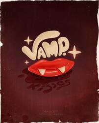 Vamp. Kisses by dimpoart
