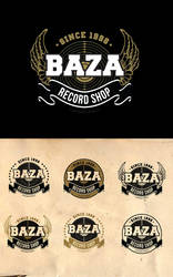 Music Shop Logo by dimpoart