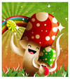 Mushrooms Likes Candy by dimpoart