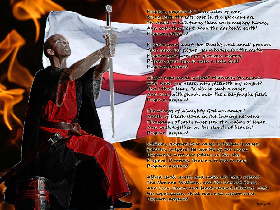 william blake a war song to englishmen