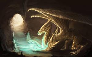 Golden Dragon II by AnnaP-Artwork