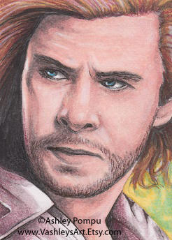 Thor Sketchcard by vashley
