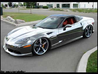 cromed Corvette by VTwizzardofoz