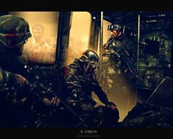 X-Virus by DX-Degeneration