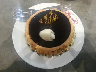 Chocolate Melt Tart by Fubukio
