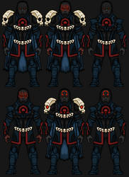 Darkseid (Uxas Khan) by snakeyboy888