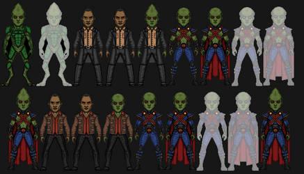 Martian Manhunter (J'onn J'onzz) by snakeyboy888