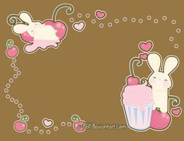 cherry milkshake wallpaper by s-bell