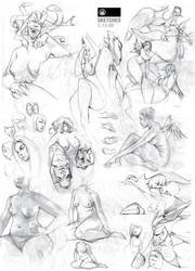Sketches 5.15.08 by BillyNunez