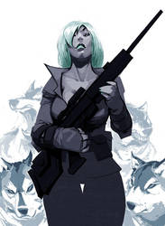 Sniper Wolf by BillyNunez