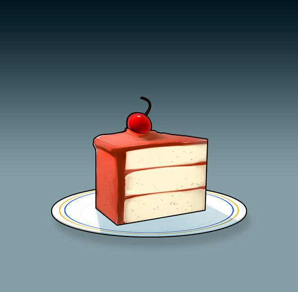 The Cake by BillyNunez