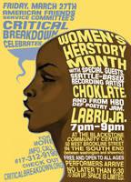 Women's Herstory Flyer by BillyNunez