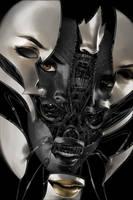 Future Face 9 - 3D by BillyNunez