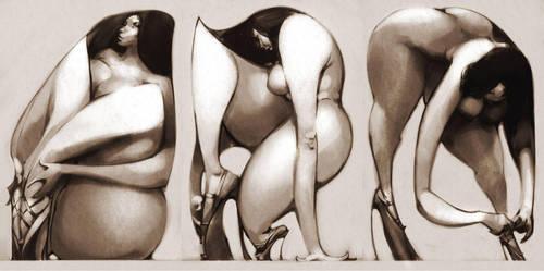 Three Heels by BillyNunez