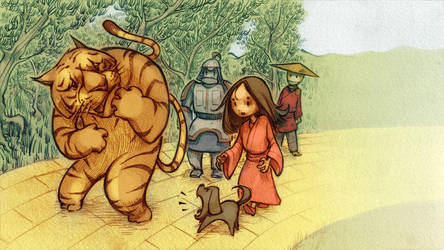 The Wizard of Oz in China 2 by BillyNunez