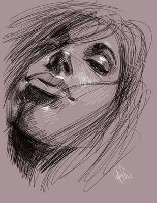 tablet sketch 2 by BillyNunez