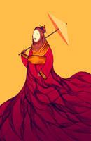 geisha by orangehamster