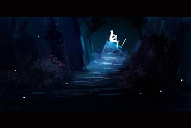 Midnight Elf by orangehamster