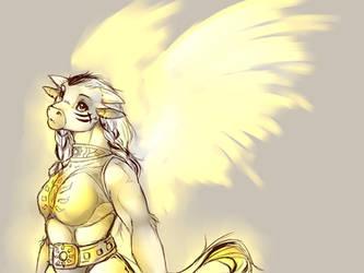 WoW: Sunwalkers wings by Youmane