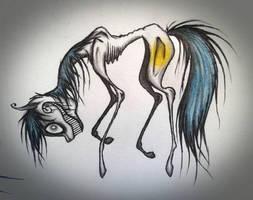 Commission: Blinding Insanity by PinkamenaCheshirePie