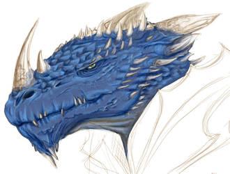 Shadra Dragonborn Slayer by Abhorash