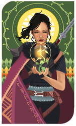 Hawke Tarot (Commission) by Crymsonette