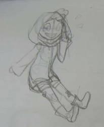 Alex baby sketch by Blazemacska