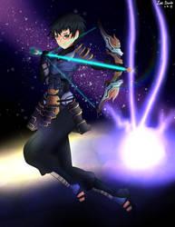 Xenoblade Chronicles 2- Akhos (Blade Form) by LizzIkanaka