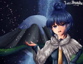 Rin from Yuru Camp by LizzIkanaka