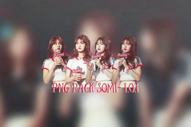 PNG PACK SOMI - I.O.I by Oh-Riho-Leo