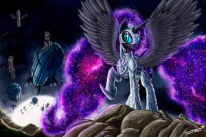 Nightmare Moon by Sa1ntMax
