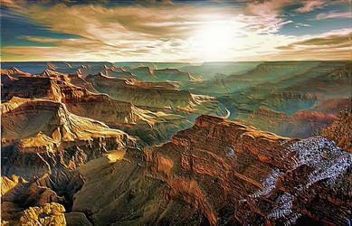 Grand Canyon Grandeur by montag451