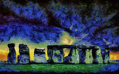 Van Gogh's Stonehenge by montag451